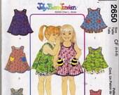 RESERVED FOR GemstonesbyDSign  McCalls Pattern 2650 Childrens Size 4-5-6 UNCUT