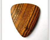 Bocote Wood Guitar Pick - Handmade by Christalos