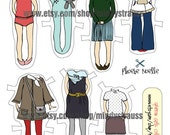Paper Doll Set - Download File - Phoebe Noelle