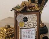 Vintage Watch 2010 Calendar Block
