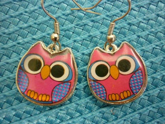 Whimsical Owls for Girls Earrings
