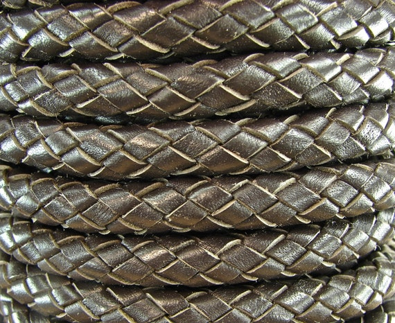 Premium Quality Leather Cord - Extra Thick 8mm In Chocolate Brown - Hard To Find Size - 18 Inch Section