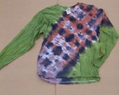 Camo Bandolier Long Sleeve Tie Dye T-Shirt (Size Large) (One of a Kind) (On Sale)