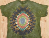 Camouflage Egg Tie Dye T-Shirt (Fruit of the Loom Size 3XL) (One of a Kind)