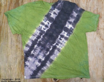 Camouflage Bandolier Tie Dye T-Shirt (Fruit of the Loom Size 2XL) (One of a Kind)