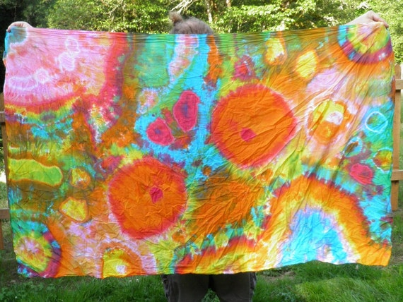 """Will O The Wisp Galaxy (44"""" x 72"""" 100% Cotton) (One of a Kind)"""