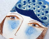 Blue Lady ACEO