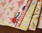 Box of Vintage Gift Wrap and Tags