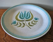 Franciscan Earthenware Tulip Time Round Platter