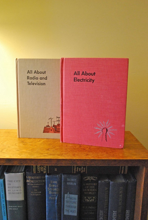 All About Electricity and TV books