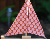 Girly Dot Sailboat