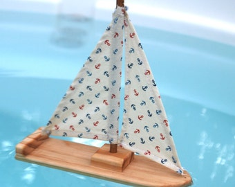 Sweet and SImple Nautical Sailboat