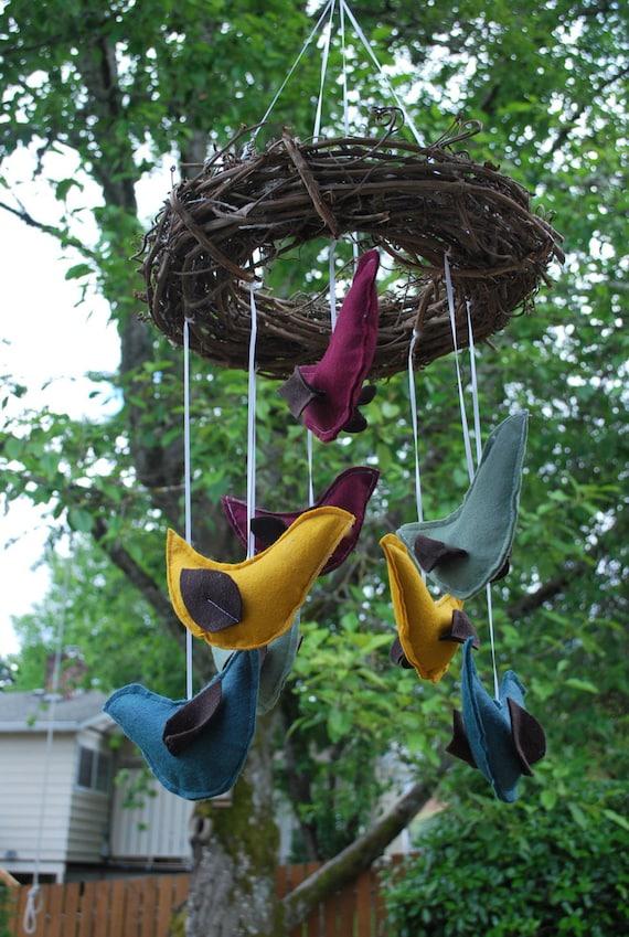 Fairytale Bird Mobile