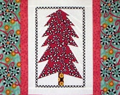Holiday SALE - Forest Night Wall Hanging (Fat Quarter Friendly) - Foundation Pieced - PDF Pattern