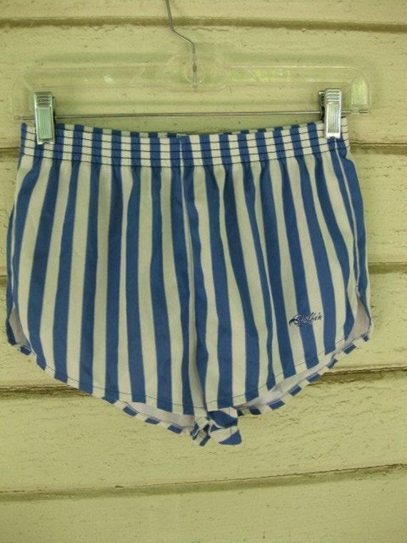 70s Mini Shorts Striped Daisy Dukes