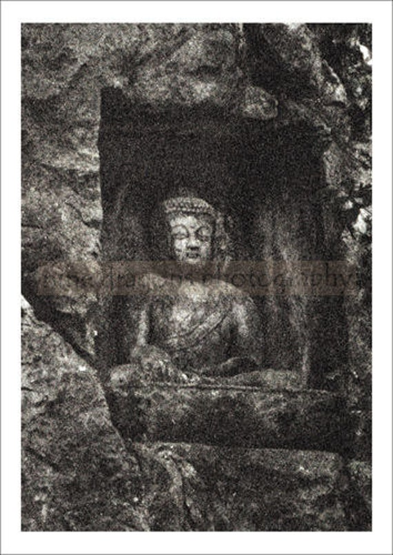 Buddha Photograph Buddhist Art Zen Home Decor by ninedragons