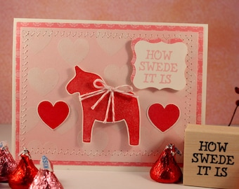 How SWEDE It Is - Wood Mounted Rubber Stamp (mcrs 10-01)