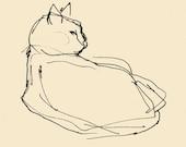 Cat  print 5x5