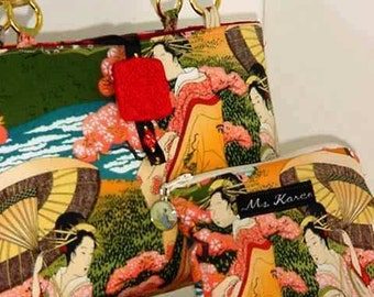 Geishas in the Garden Purse 3 item set LAST ONE