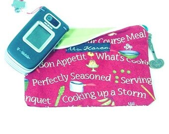 Foodies Organizer,Pouch, What's Cooking, Chef pouch