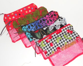 Zippered Organizer from Recycled Mesh