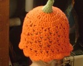 Little Punkin' Head Scallop Hat
