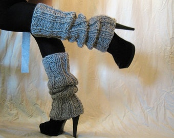 Leg Warmers Gray Ultra High - Marble gray or Pick your color