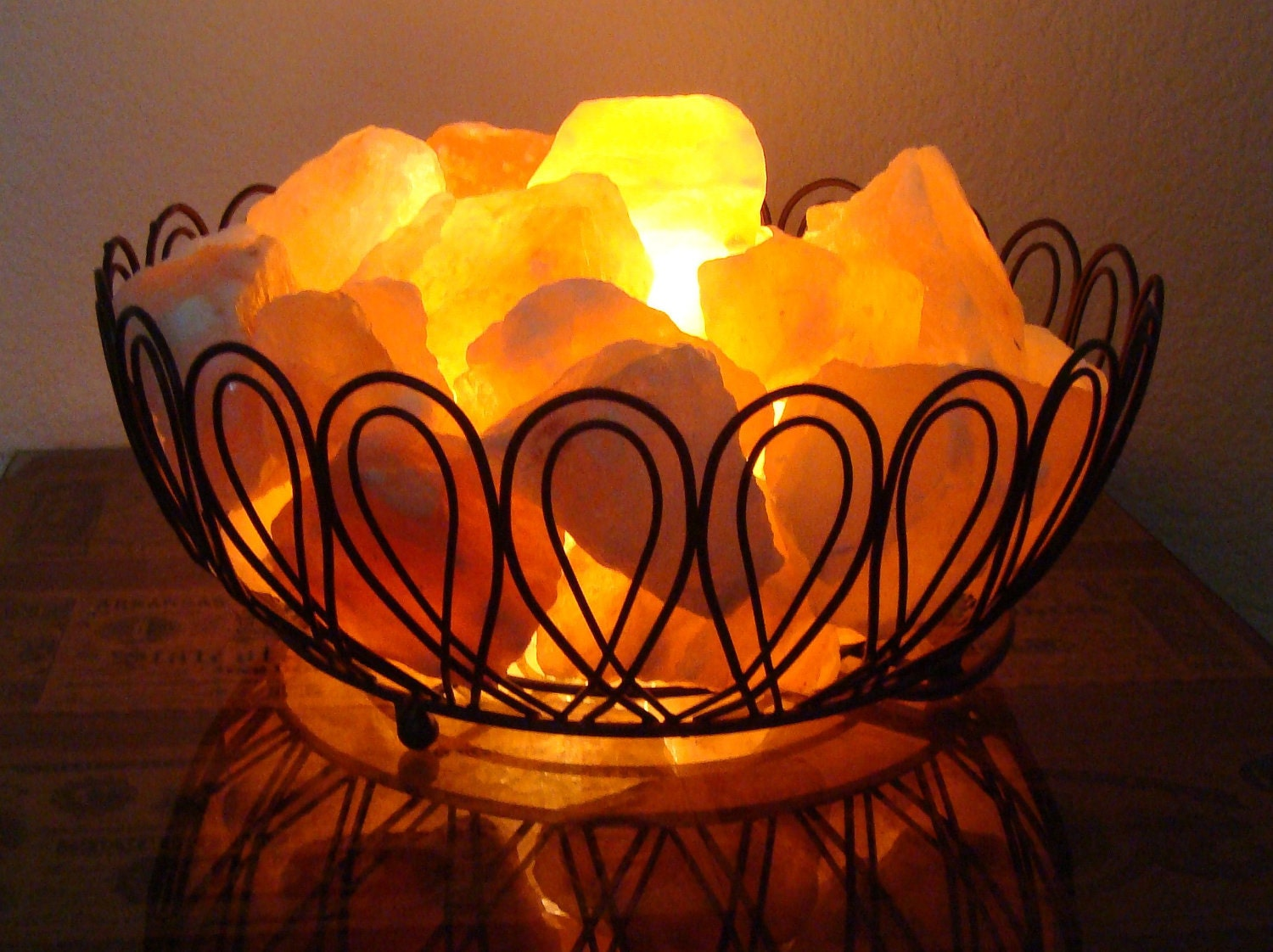 himalayan salt lamp basket