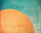 Orange Julep - 11.5x11.5 Original Signed Fine Art Photograph - Montreal Landmark Photograph