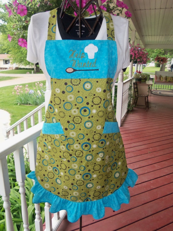Help Wanted Ruffled Apron