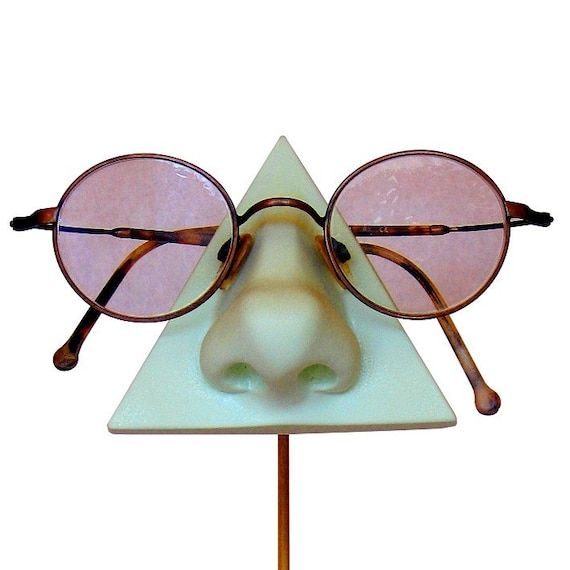 Mint Green Nose Eyeglass Holder