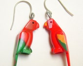 Lego Parrot Earrings