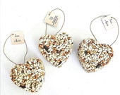 50 Wedding Favors Birds Love, Personalized Bride & Grooms Name by Nature Favors