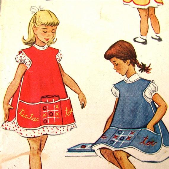 Classic Child S Cobbler Apron Pattern Mccall S