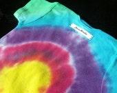 Rainbow Target Tie Dye Onesie - 18 months