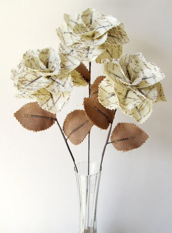 Custom Fabric Flowers - Reserved for Christine