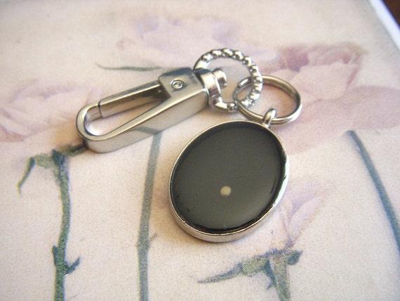 mustard seed of faith decorative oval resin keychain key chain