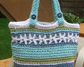 Beachside Bag, Crochet Pattern Pdf , Instant Pattern Download Available