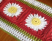 Tuscan Inspired Crochet Table Runner Pattern,Crochet Pattern Pdf, Instant download available
