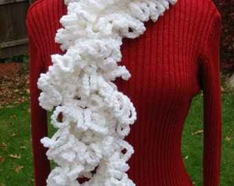 Loopy Layers Scarf, Scarf Crochet Pattern pdf, Instant Pattern Download Available