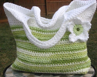 Spring Fling Bag Crochet Pattern Pdf, Instant download available