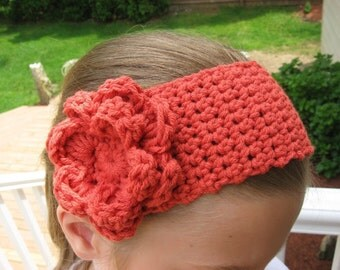 Blossoming Headband, Crochet Pattern Pdf ,fits all sizes 2- adult, Instant Download Available