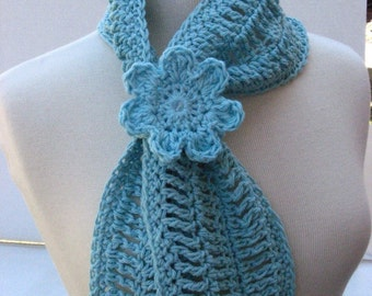 Summer Fashion Scarflet, CROCHET PATTERN pdf file