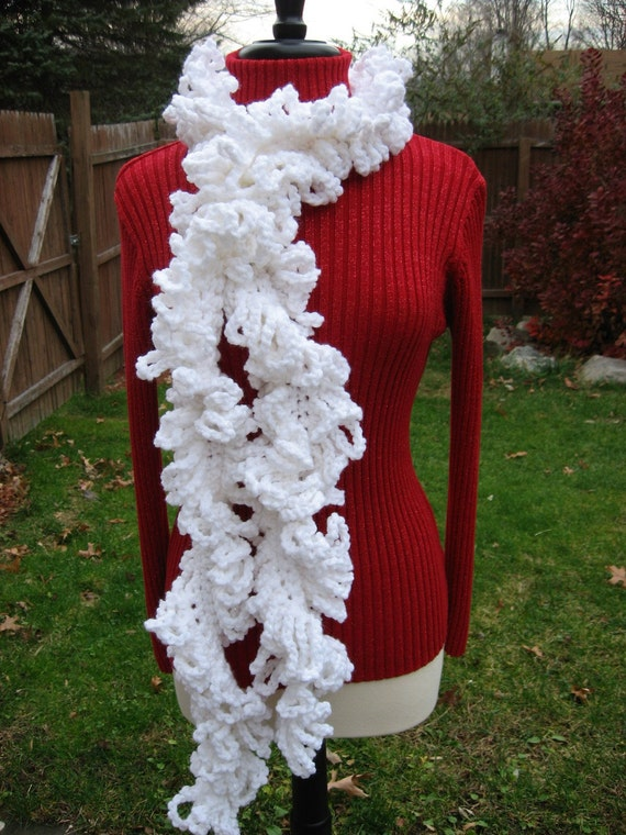Loopy Layers Scarf, Crochet Pdf, Instant Pattern Download Available
