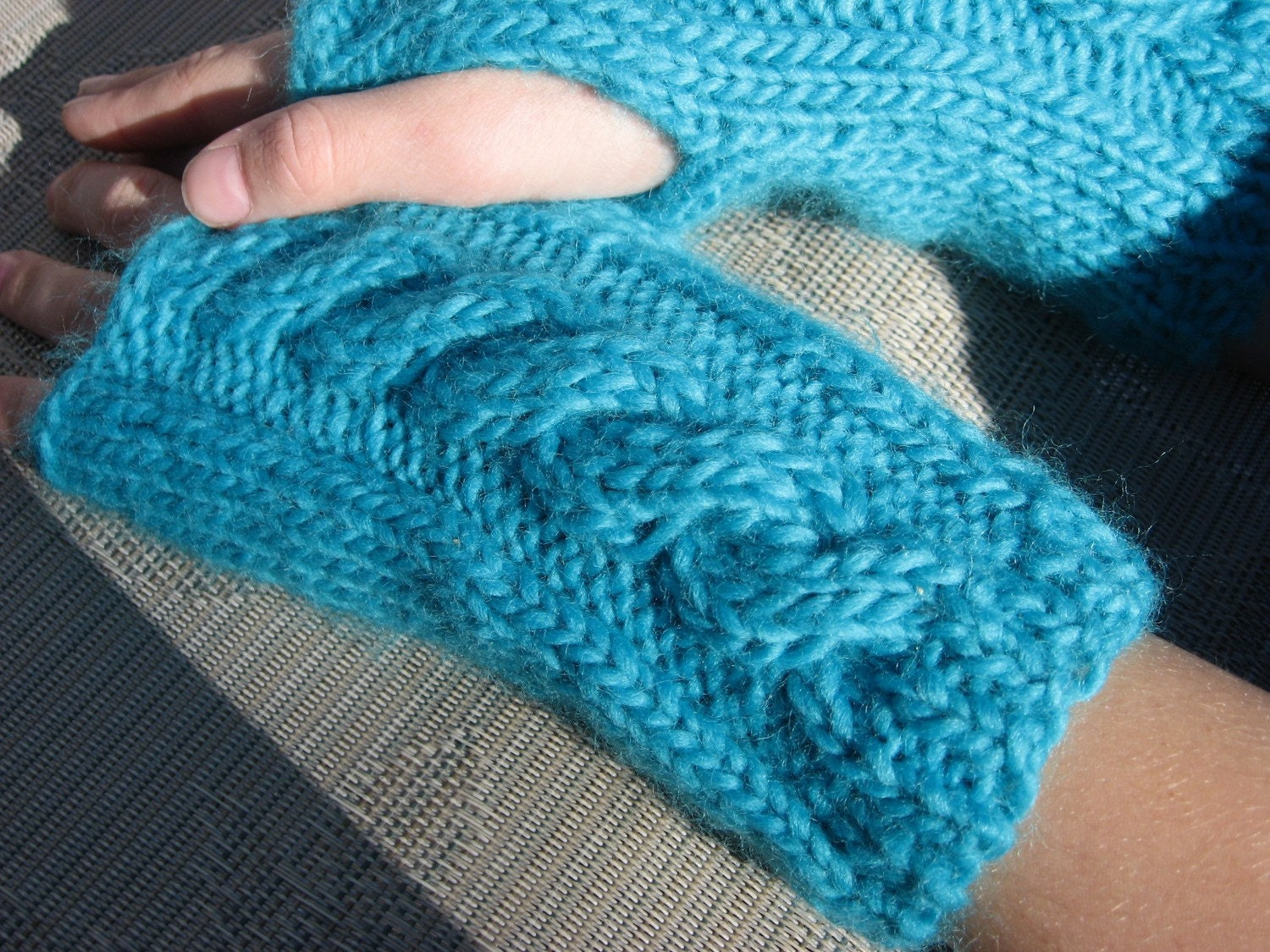 Simply Scruptious Fingerless Gloves Knitting Pattern Pdf