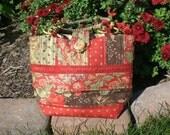 Wood Button Handbag