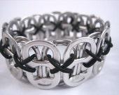 Poppy Toppy Pop Tab Bracelet in Black, in sizes from XXS to XXL