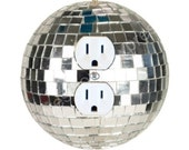 Disco Ball Duplex Outlet Plate Cover