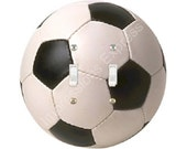 Soccer Sports Ball Double Toggle Switch Plate Cover A