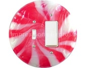 Peppermint Candy Toggle and Decora Rocker Switch Plate Cover